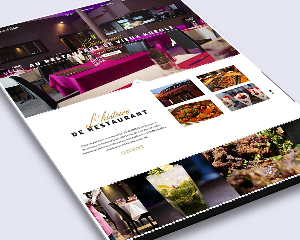 Création site internet réunion